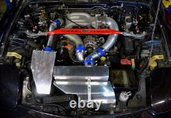 11 Gauge Stainless Steel Turbo Manifold For 93-02 Mazda RX-7 RX7 FD 13B