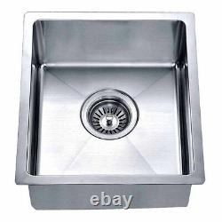 16 GAUGE 15 inches kitchen and bar sink small radius commercial grade