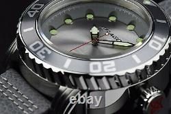 ARAGON Gauge Automatic 55mm NH35 AUTOMATIC Gray Watch & Strap A174GRY
