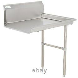 Commercial Restaurant Right Stainless Steel 16 Gauge 2' Clean Dish Side Table