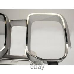 Dashboard Gauge Cluster Trim 4p for 2010-2015 Chevy Camaro Stainless/Polished