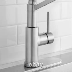Glacier Bay Gage Single-Handle Spring Neck Pull-Down Kitchen Faucet
