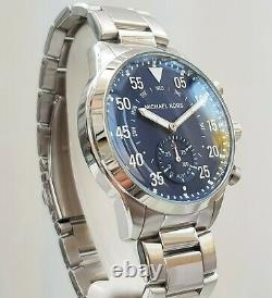MICHAEL KORS ACCESS Mens Watch HYBRID Smart Gage RRP £300 IDEAL GIFT for Him
