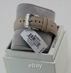 New Authentic Michael Kors Gage Grey Silver Chronograph Men's Mk8616 Watch