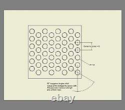 Perforated 304 Stainless Steel Sheet 1/16 inch hole, 22 gauge 36 X 98 inch