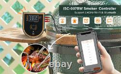 WiFi BBQ Temperature Gauge Thermometer Automatic Smoker Controller Cooking Grill